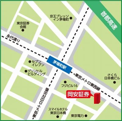 東京支店map